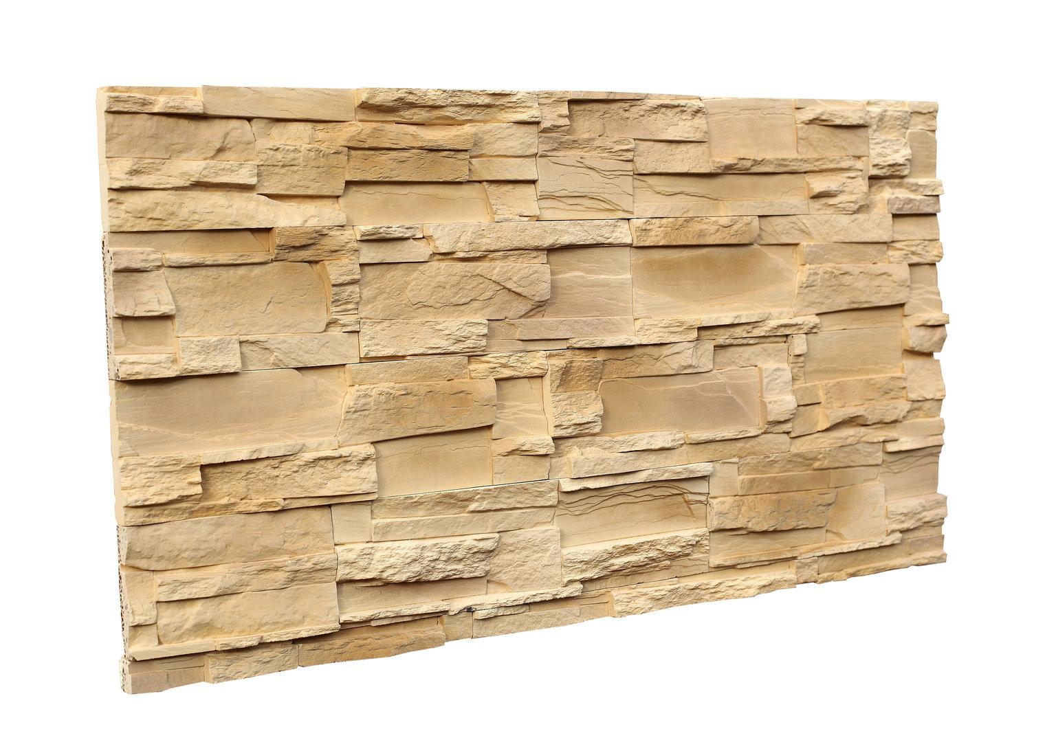 Exterior Stone Cladding - OLIMPIA SAND OL 2 - homemate-shop.co.uk