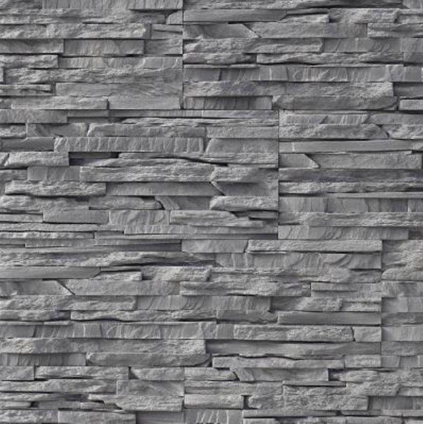 Iberian Rock Grey Stacked Stone Split Face Stone