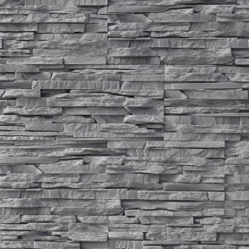 Sample Square Pattern Wooden Gray Marble Stone Glass: Interior Stone Cladding